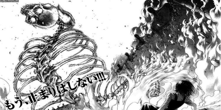 Attack on Titan : Shingeki no kyojin chapter 123 spoilers ...