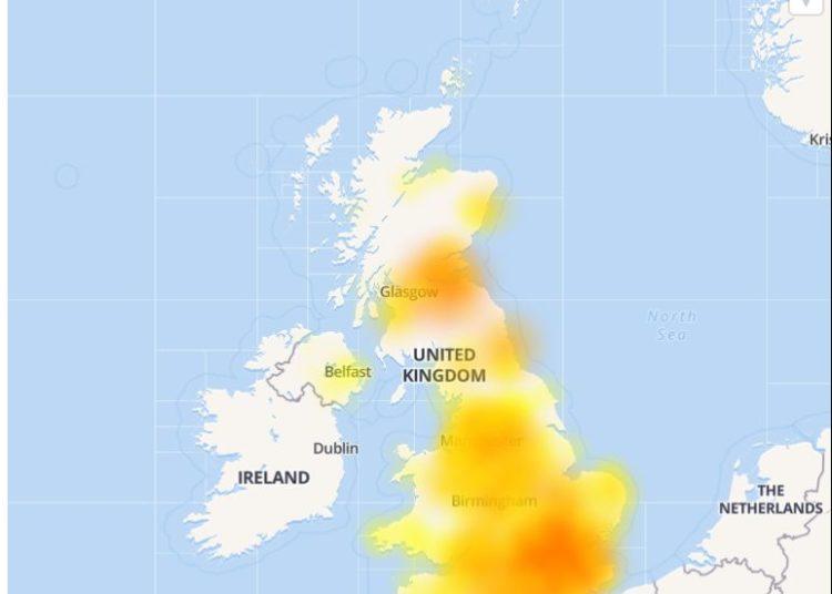 British Telecom (BT) : Down and not working ? Server status ...
