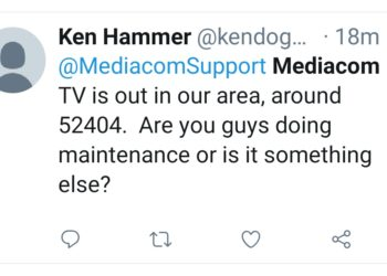 Mediacom Outage : Down and not working ? Server status and ...