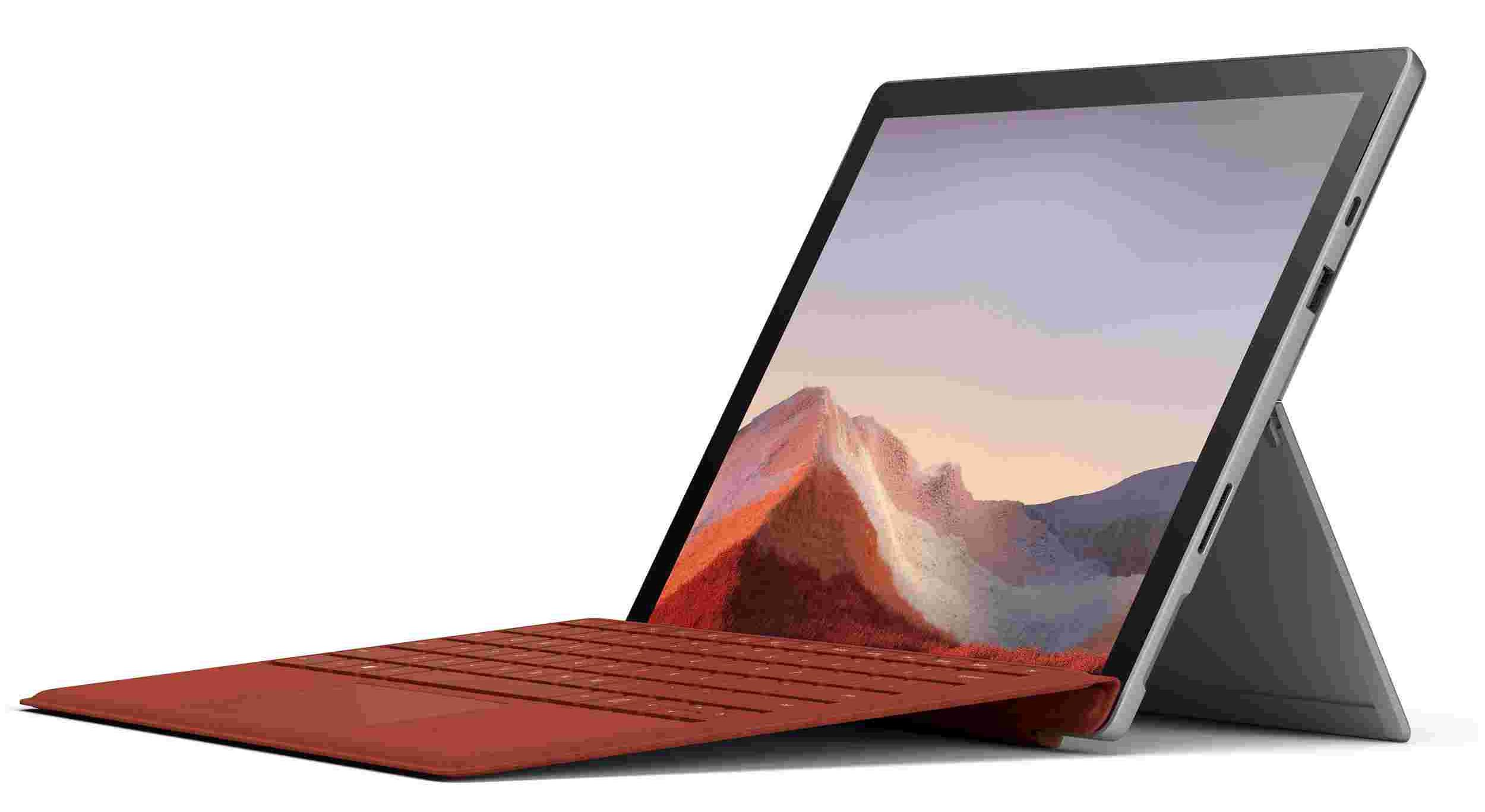 Deal: Get Microsoft Surface Pro 7 + Black Pro Type Cover for just $599