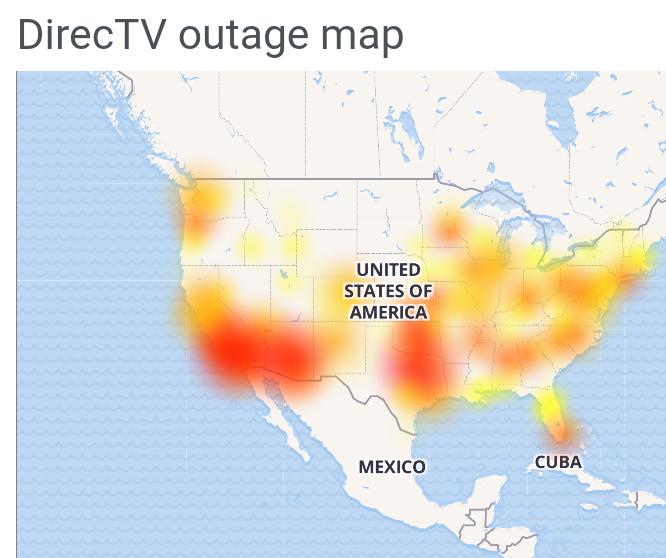 DirecTV down
