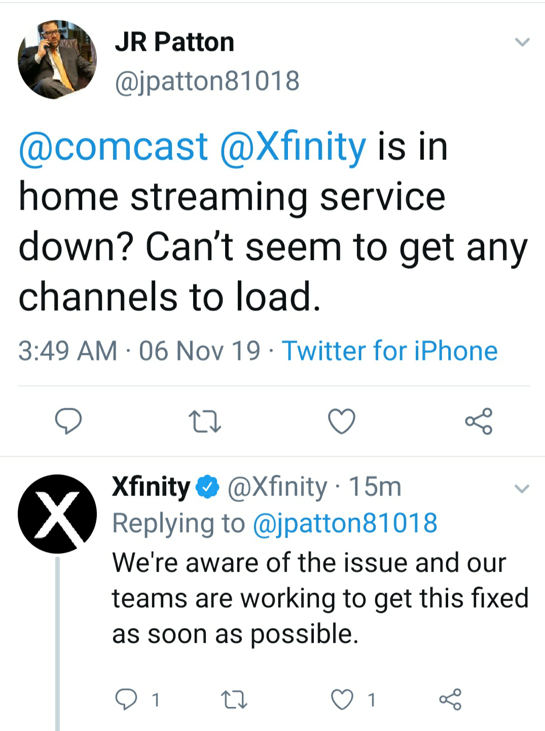 Internet down again Comcast (Xfinity) Outage & not ...