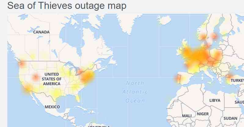 Sea of Thieves servers down