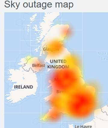 Sky Internet Down (Not working)
