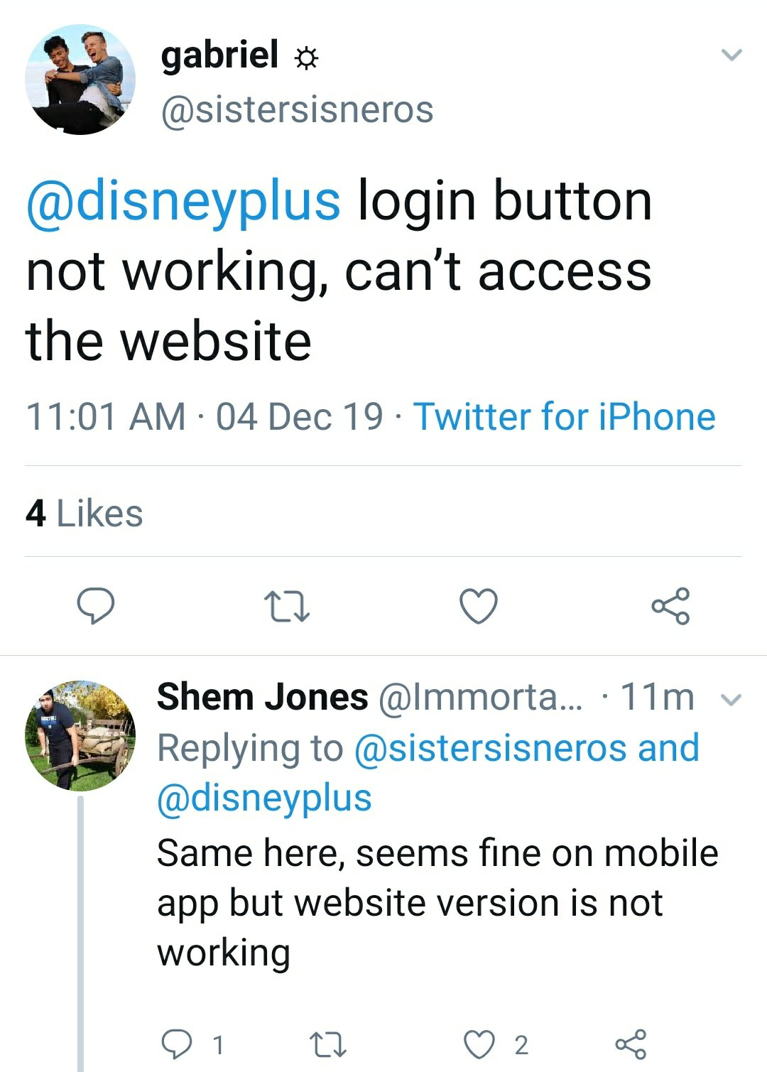 Disney Plus down : Website login not working for many users   DigiStatement