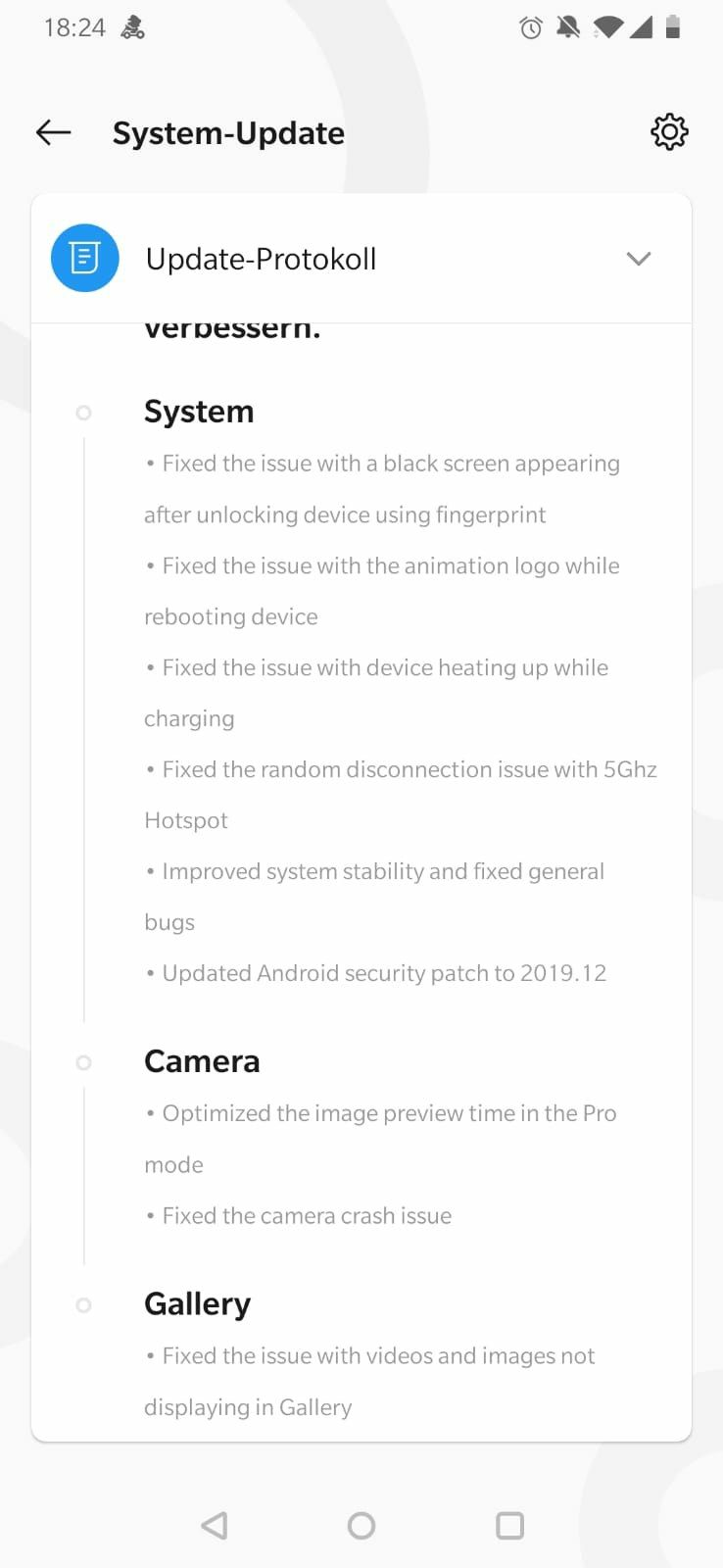 OnePlus 6/6T gets OxygenOS 10.3.1 update