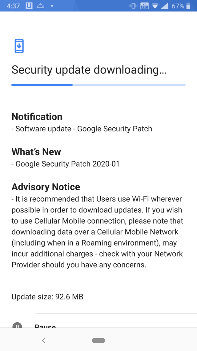 Nokia 8 Sirocco January security patch rolling out now, Android 10 update awaited