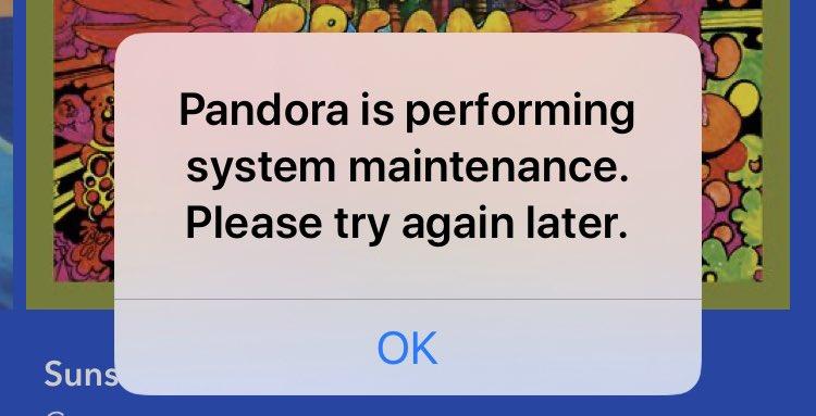 Pandora down