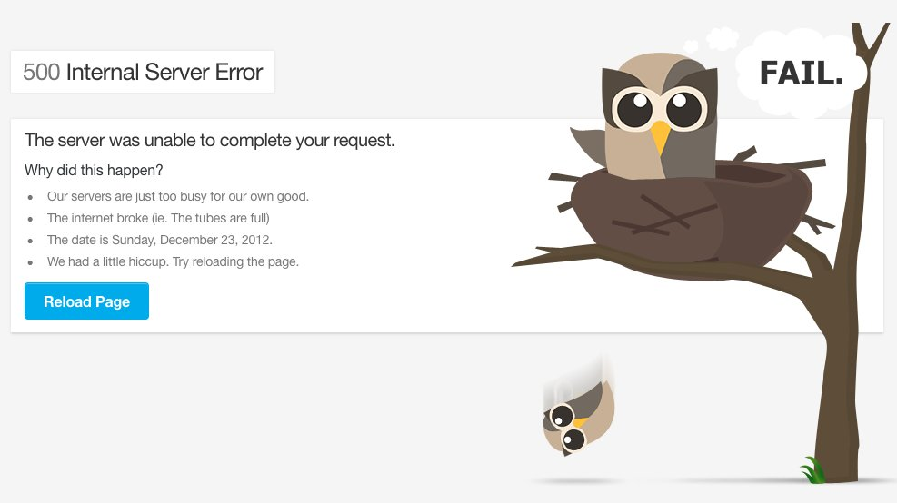 Hootsuite website down (not working)