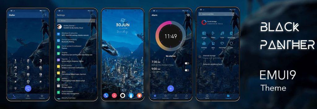 Huawei Y9 Prime (2019) EMUI themes