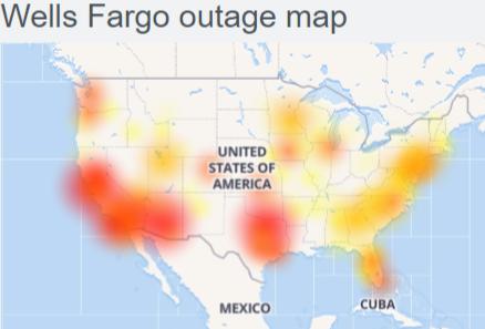Wells Fargo wesbite/app down (not working) : Wells Fargo Mobile banking not working