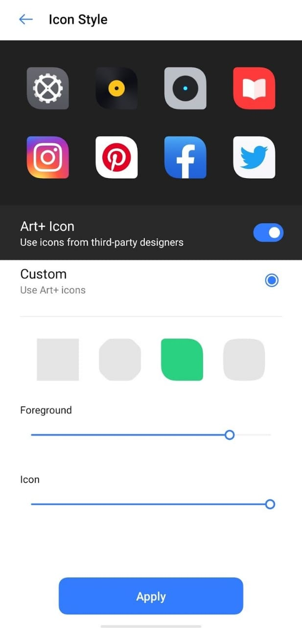 Download Realme UI wallpapers