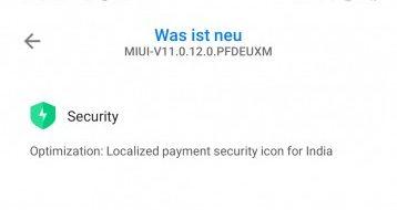 Mi Note 10 MIUI 11 (V11.0.12.0.PFDEUXM)