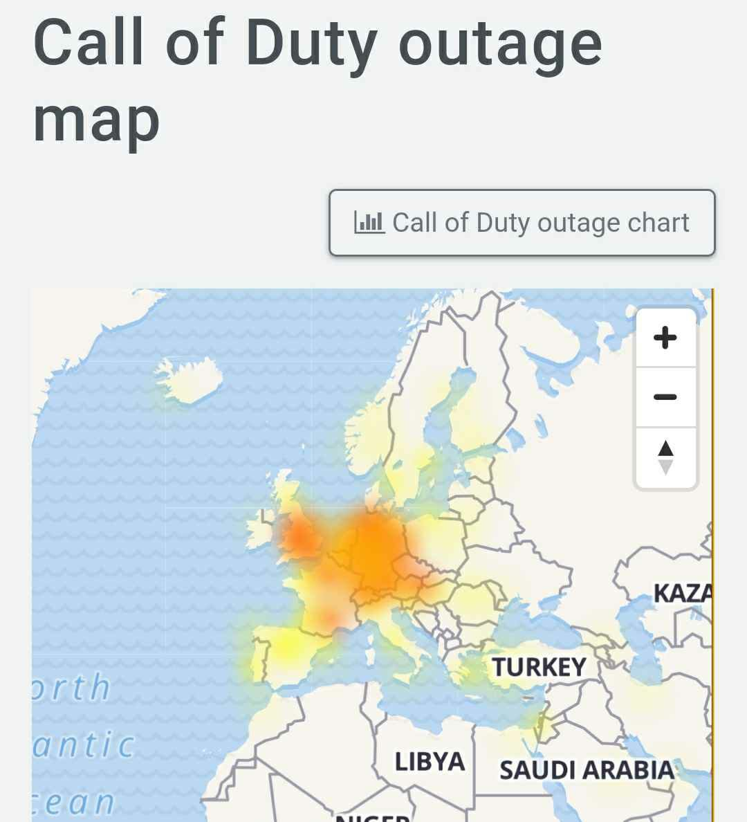 Call of Duty servers down