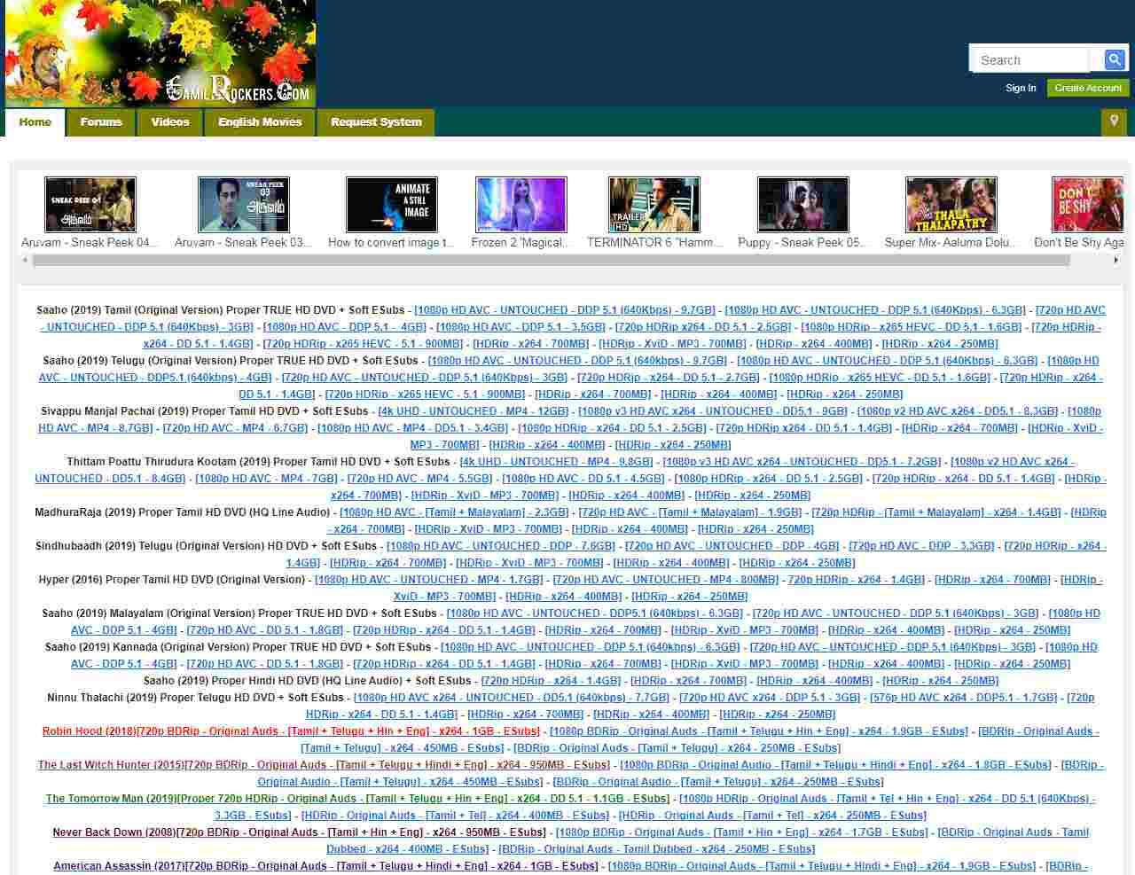 Tamilrockers website not working : Tamilrockers new link not working (Tamilrockers 2020 : movie download site not opening)