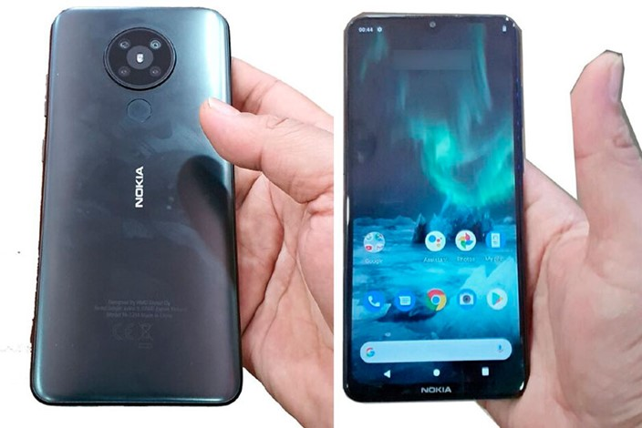 Nokia 5.2 leaks in hands-on photos with quad-camera array