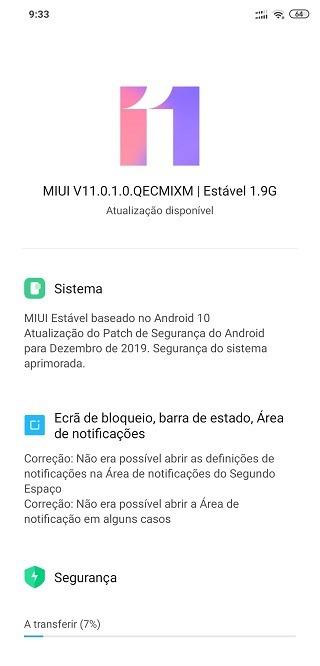 Mi 8 Pro Android 10 Update