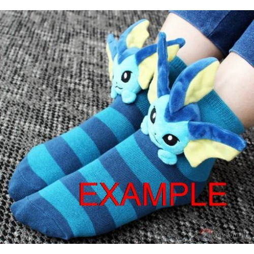 All Eevee Evolutions Plush sock