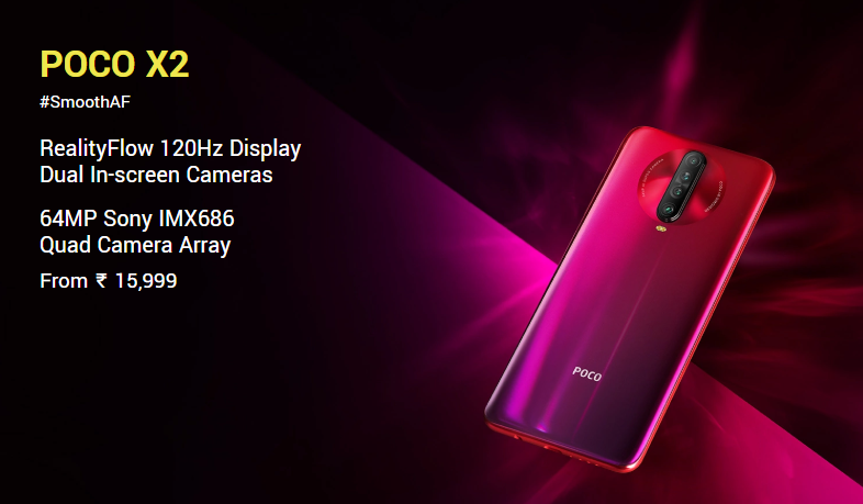Poco X2 Launched In India Poco X2 Price Specifications And