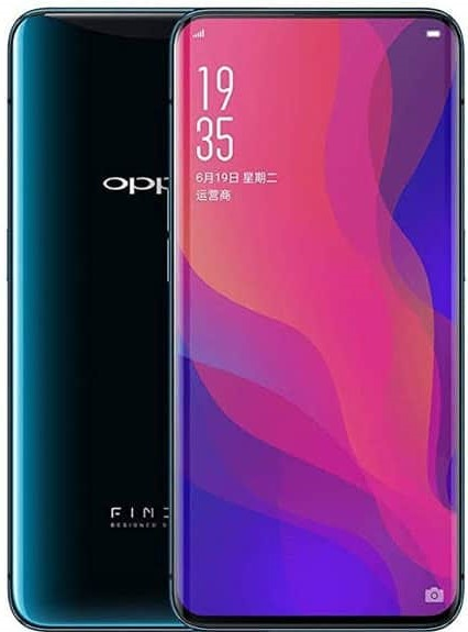 Oppo Find X2 Specificatons
