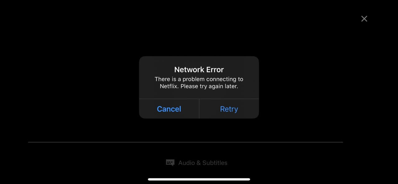 Netflix DOWN (not working) for many user