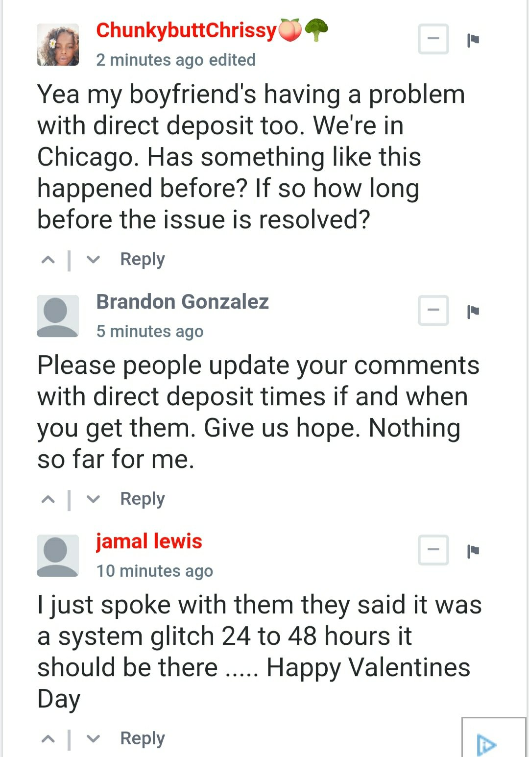 PayPal down - Users facing issues with Direct Deposit currently