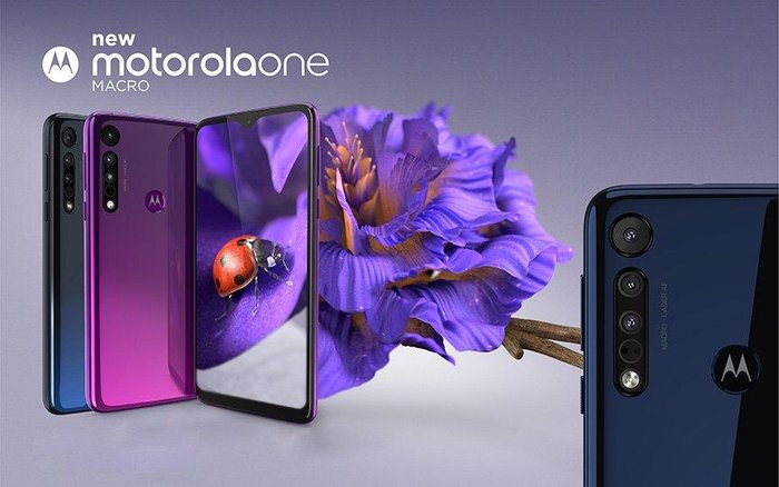 Motorola Moto One Macro 64GB/4GB