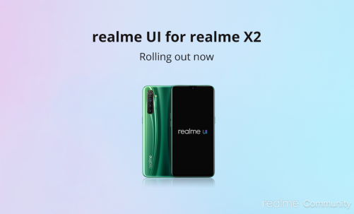 Android 10 update for Realme X2