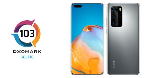 Huawei P40 Pro official Dxomark score