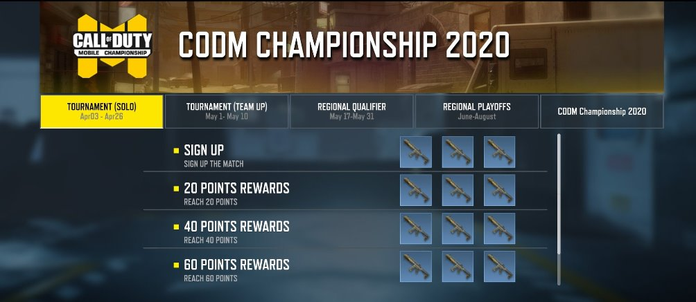 Call of Duty: Mobile Championship 2020