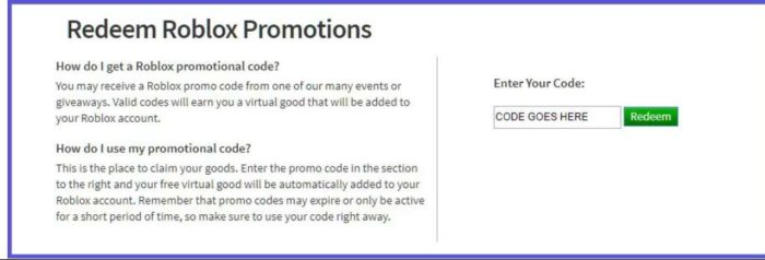 Roblox Promo Codes List March 2020 Update And How To Redeem Them