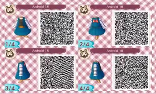 Animal Crossing New Horizons Dragon Ball Z Qr Codes List
