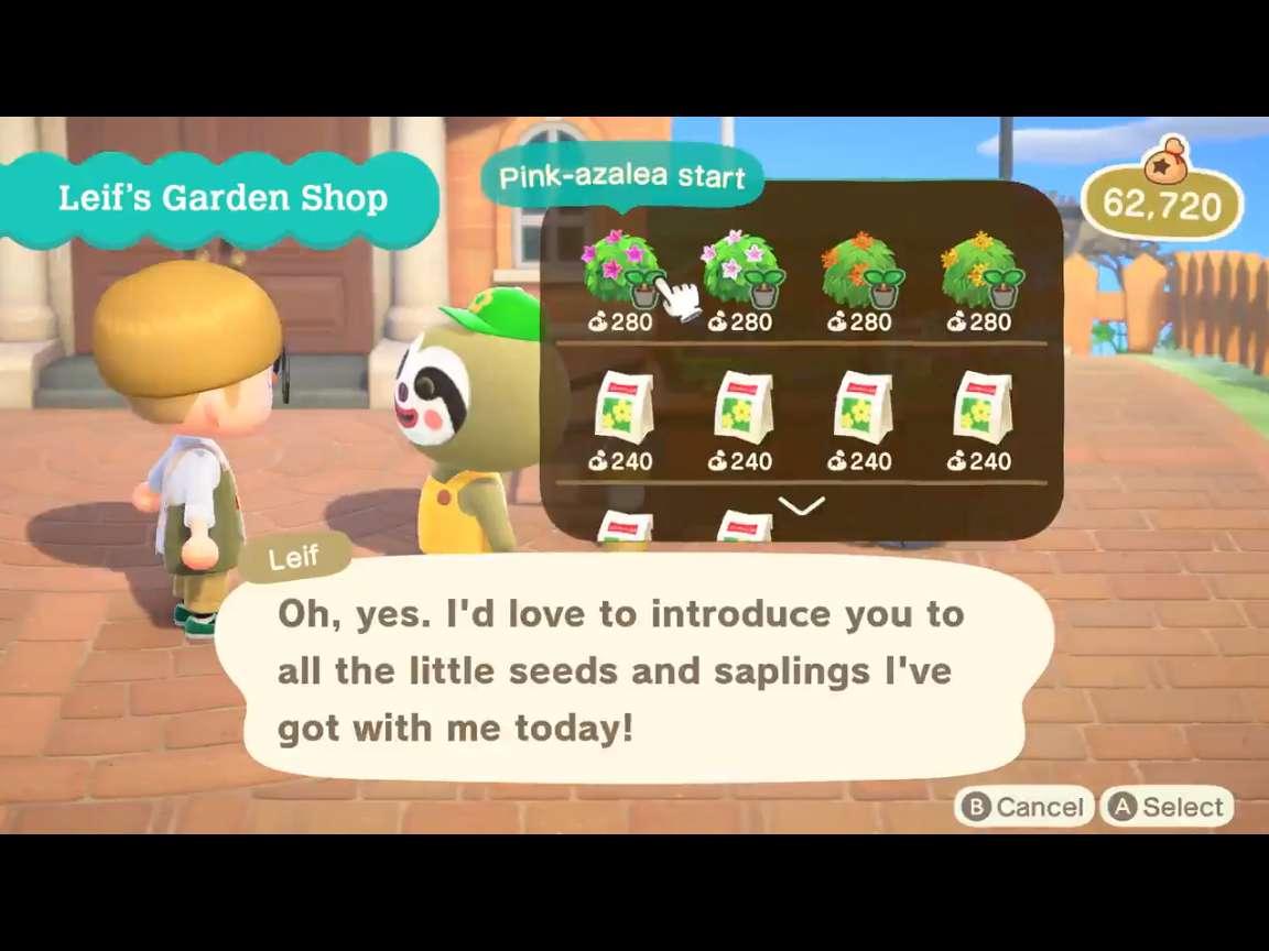 Animal Crossing New Horizons Shrubs List All Shrubs Available