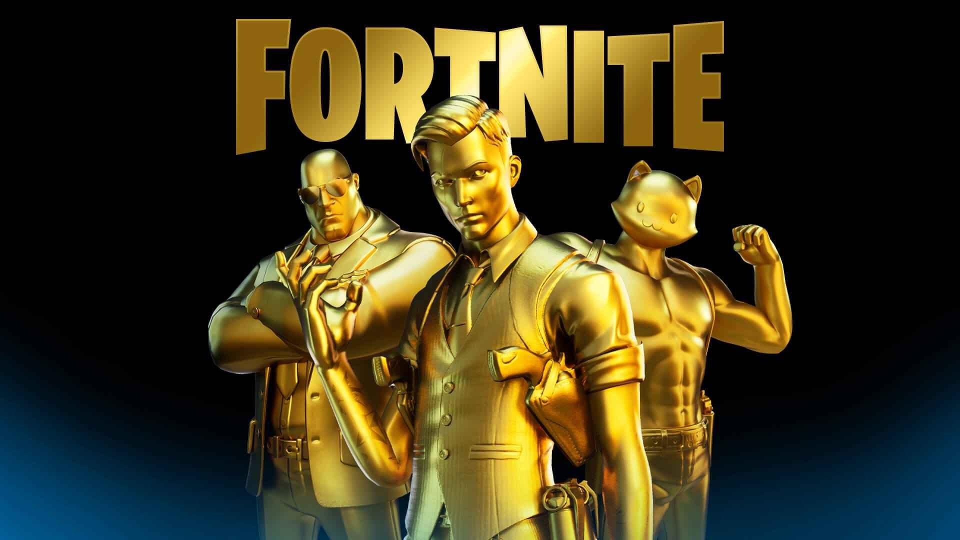 gold fortnite