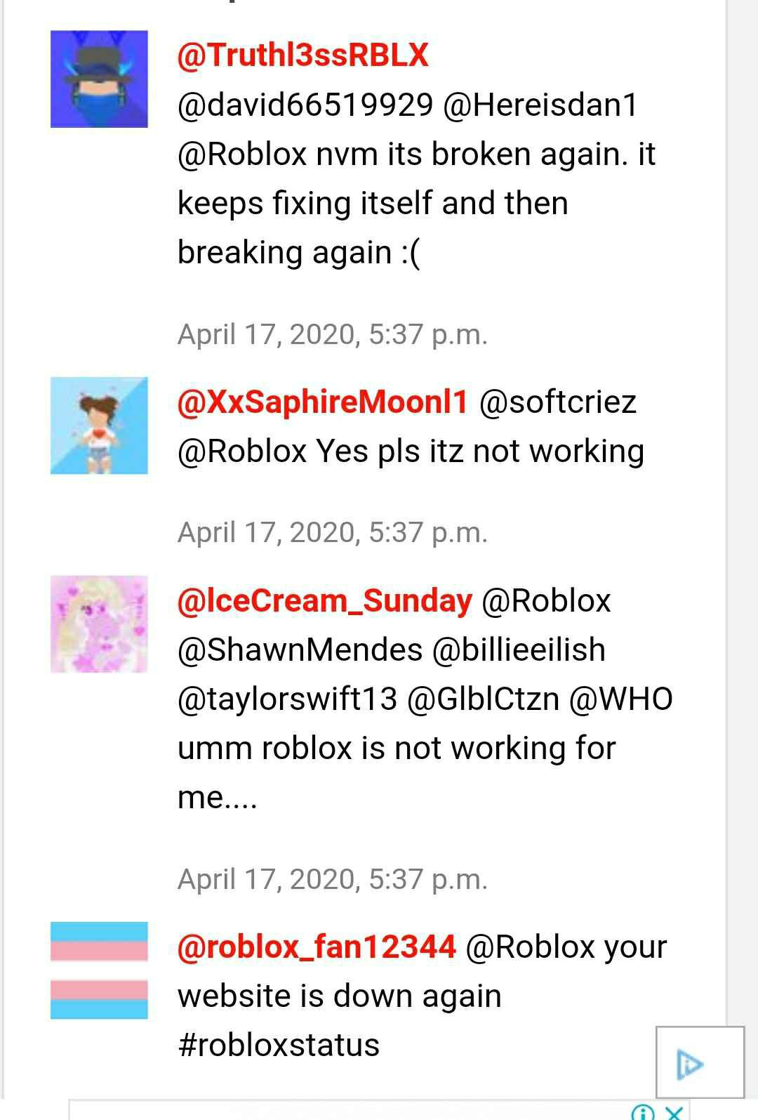 Roblox Servers Down Not Working Login Chat Broken For Many Players Digistatement