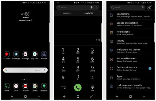 One UI themes