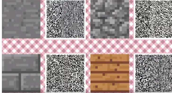 Animal Crossing New Horizons Minecraft Qr Codes Digistatement