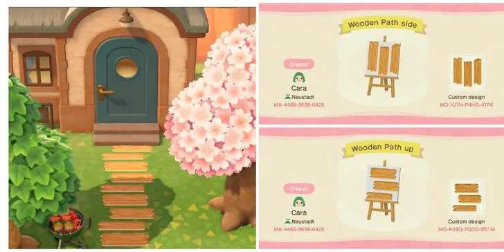 Animal Crossing New Horizons New Custom Paths Streets Designs