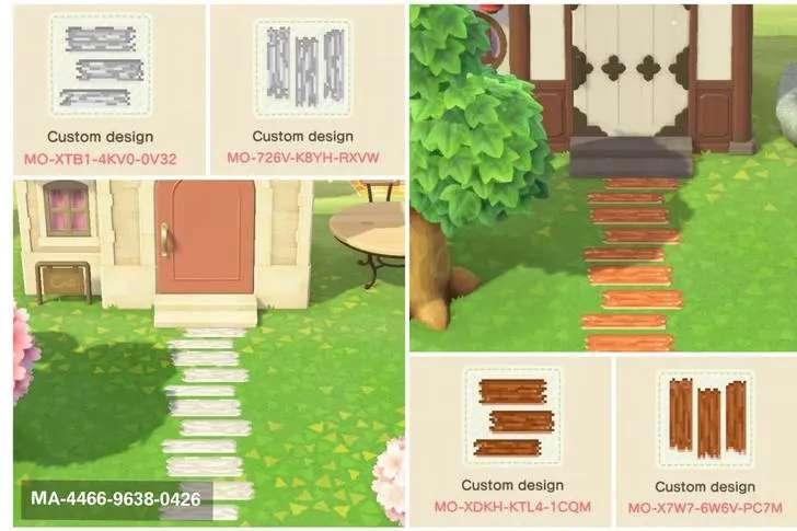 Animal Crossing: New Horizons New Custom Paths, Streets ...