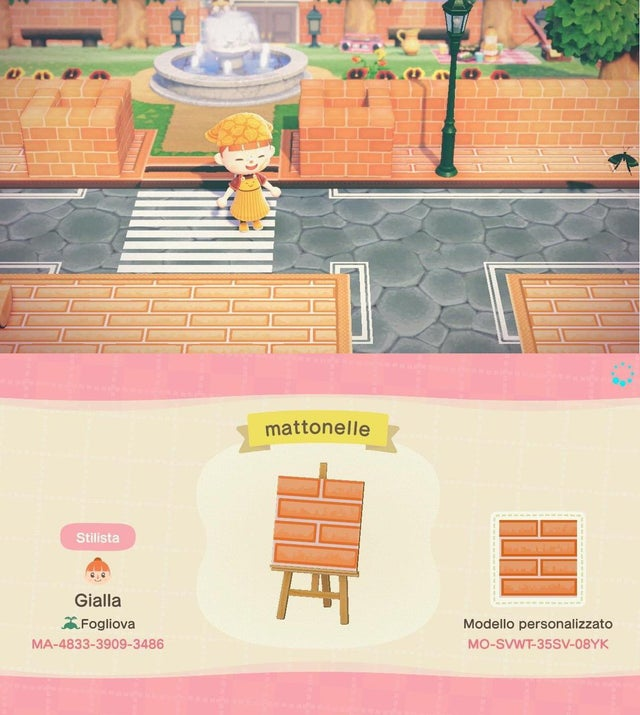 Animal Crossing New Horizons New Tiles Streets Wood Steps And Paths Qr Codes Custom Designs April 2020