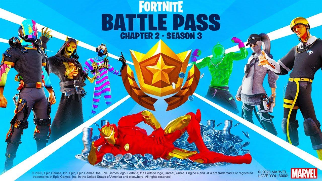 Fortnite Chapter 2: Season 3 Leaks: Skins, Battle Pass ...