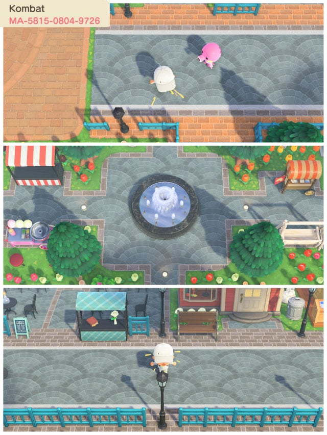 Animal Crossing: New Horizons New Custom Paths, Streets ... on Animal Crossing New Horizons Wood Design  id=66850