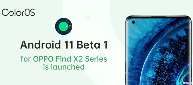 Android 11 Beta 1 for Find X2 series