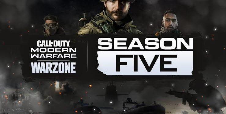 Call Of Duty Modern Warfare Warzone Season 5 Leaks Digistatement