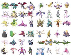 List 2 Mega Evolution