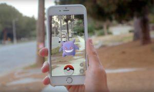 Pokémon Go on iOS