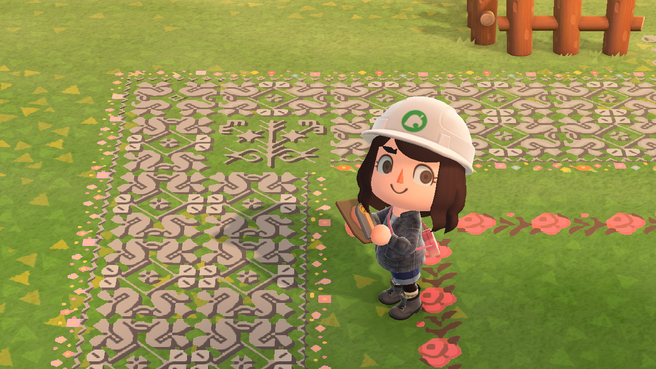 Animal Crossing New Horizons Acnh Ground Path Designs Qr Codes Patterns For July 2020 Digistatement