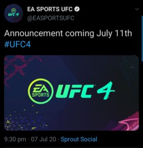 Official EA Sports Tweet