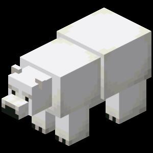 Creeping Winter Polar Bear