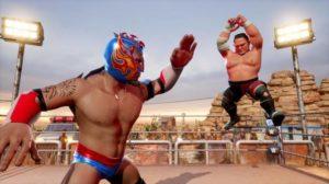 WWE Battlegrounds Game